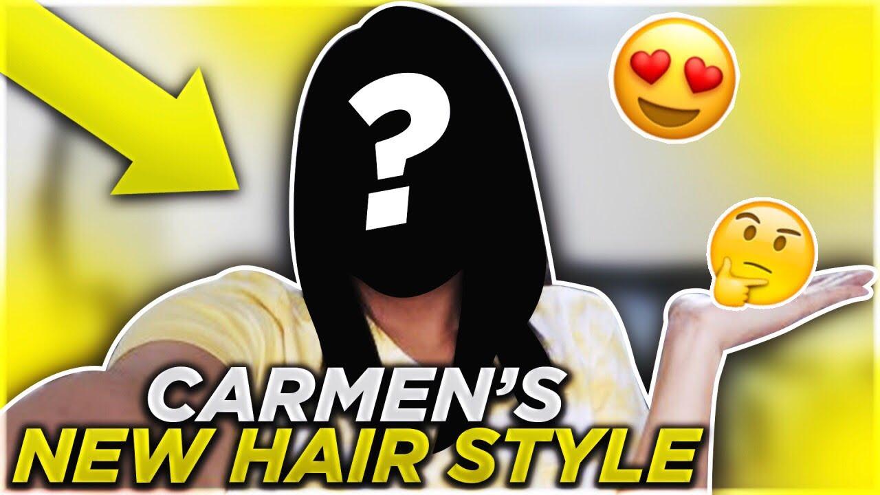 CARMEN'S NEW HAIR STYLE!!   PREGNANCY UPDATE