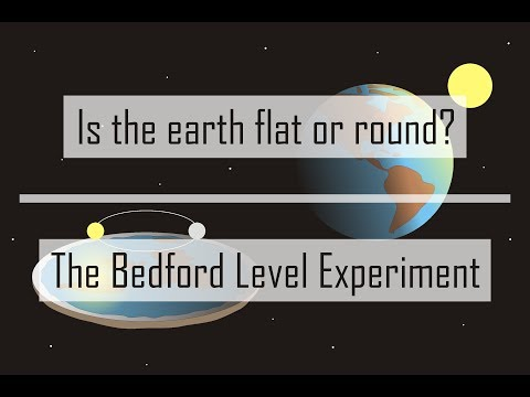 Is the earth flat or round? - The Bedford Level Experiment thumbnail