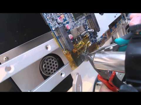 Sager W230ss Notebook Computer Laptop Power Jack Repair Broken Socket Input Port Pin Fix