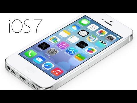 iOS 7 - Základní nové funkce
