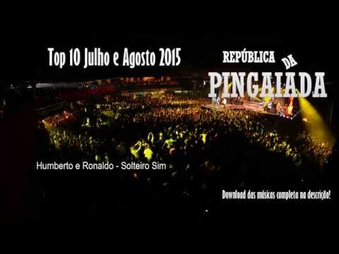 TOP 10 Sertanejo Universitário - Julho e Agosto 2015