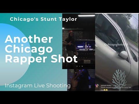 Another Chicago Rapper shot on Instagram Live