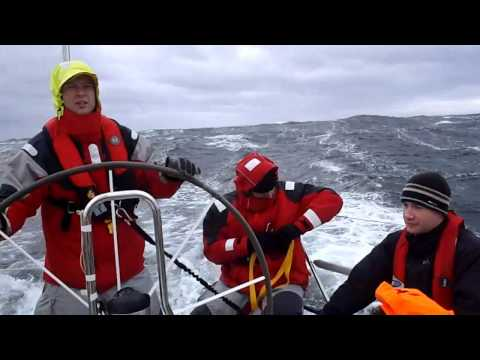 2010 Southern Straits Race onboard Astral Plane (J109)