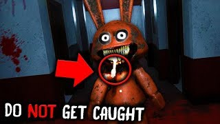 This is what happens in School after 3:00 AM... *WARNING* (SUGAR The Evil Rabbit Mobile Horror Game)