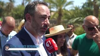 Inauguration de la Cabane pédagogique conçue par Matali Crasset, journée du 12 Mai, Nefta - Tunisie