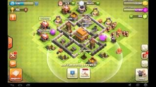 Let's play Clash of Clans #3 Farmen und Krasser loot in Bronze zwei