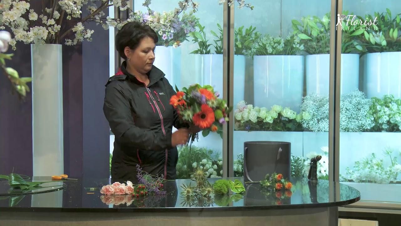 Florist Eire   Bouquet Making Movies   Exported Recordsdata   Unique Shock Hatbox