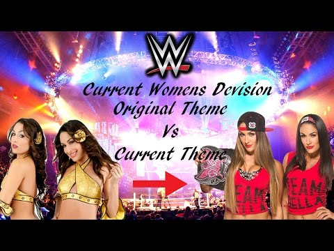 Original Vs Current Themes [Current WWE Women's Division]
