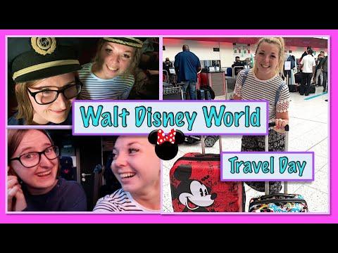 Disney World Vlogs 2019 | TRAVEL DAY | Virgin Atlantic And All Star Sports