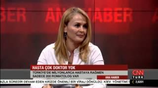Romatolog Doktor Selda Öktem CNN Türk Ana Haber