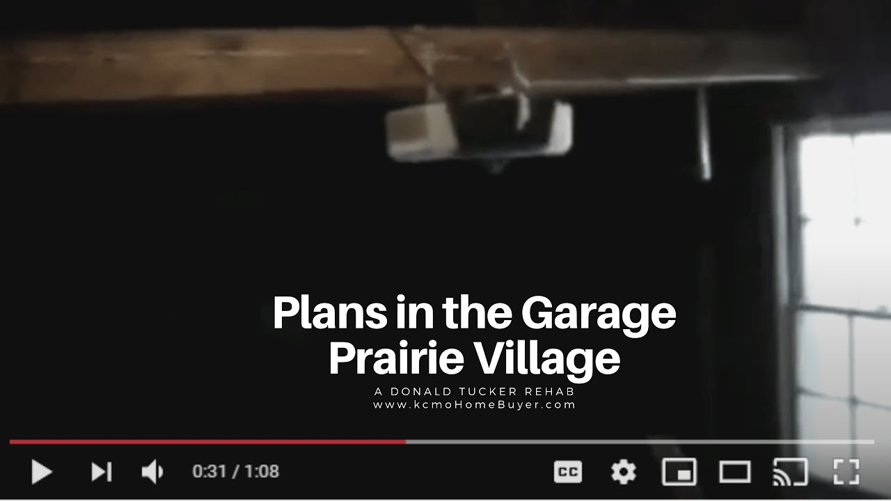 Donald Tucker Rehab:  Review of the Garage in Prairie Village at kcmoHomeBuyer.com