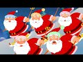Five Fat Santas | Five Little Santas Nursery Rhymes | Cartoon Videos For Toddlers by Kids Tv
