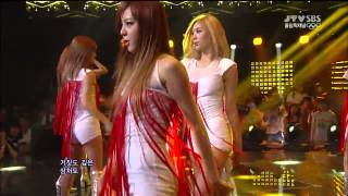 Repeat youtube video Live HD   120729 After School - Flashback @ SBS Inkigayo 2012 London Olympics Special