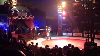 Marriage proposal at circus in Cleethorpes