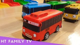 Wheels On The Tayo Bus Real Life 🚌 Learn Color For Kids ♥️ Nursery Rhymes 4 Kids  ♥️ HT BabyTV ✔︎