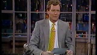 Letterman - Top 10 List 1989