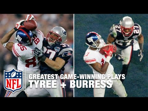 Tyree Helmet Catch + Plaxico Burress