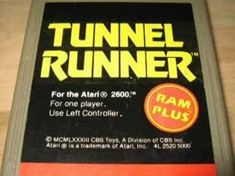 Classic Game Room - TUNNEL RUNNER for Atari 2600 review