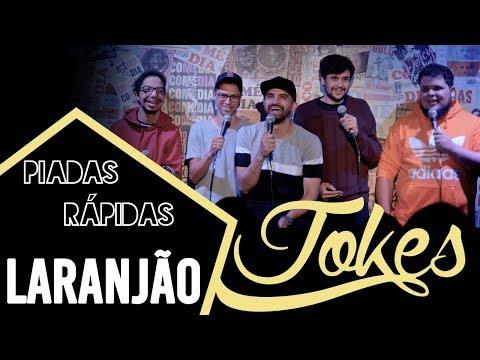 PIADAS RÁPIDAS - LARANJÃO - Ep.05 L Temp.01