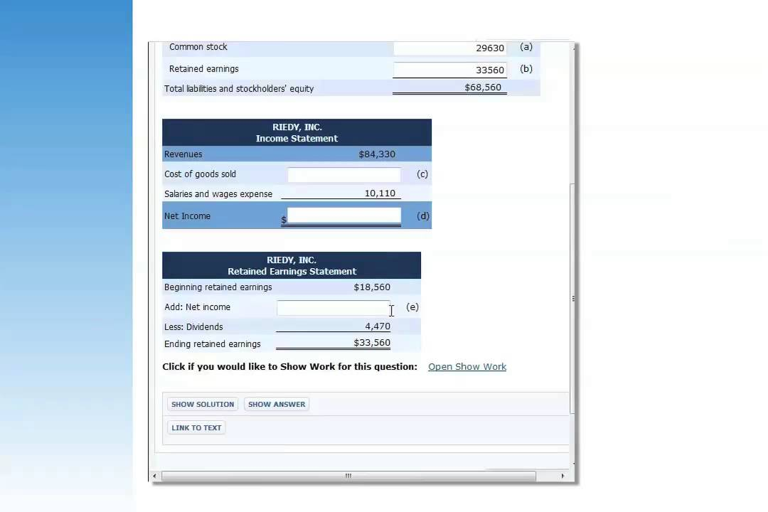 Financial Accounting Tools For Business Decision Making 9th