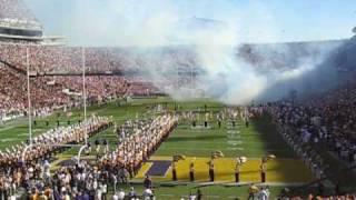 Alabama vs LSU Fighting Tigers as Teams Take the Field Saban Booed