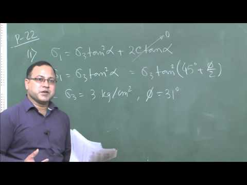 Module 49 - Problem on shear strength of soil