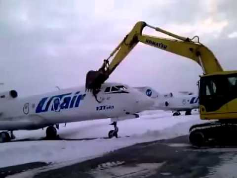 Airport employee destroyed plane after getting fired..