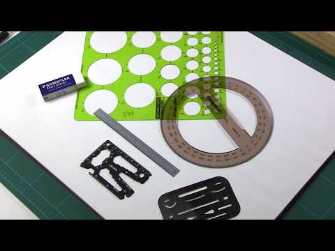 Lever Gear Toolcard Pro - Demo 5 - Drafting Tools