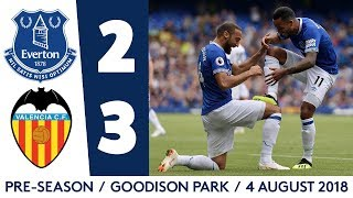 EVERTON 2-3 VALENCIA | TOSUN ON TARGET AT GOODISON