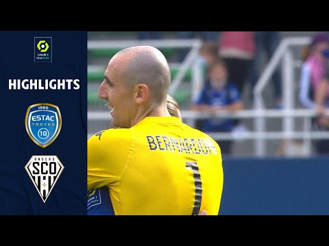 Troyes Angers Goals And Highlights