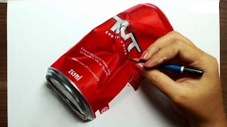 Desenhando uma lata de TNT