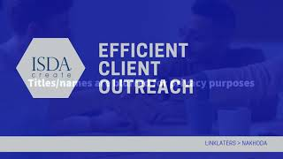 ISDA Create: Efficient Client Outreach