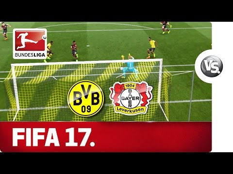 BORUSSIA DORTMUND vs. BAYER 04 LEVERKUSEN - FIFA 17 Prediction with EA SPORTS