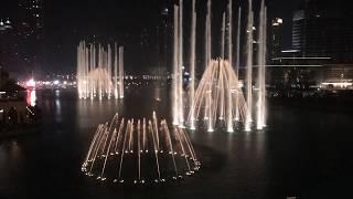 The Dubai Fountain.  Wen Bie   Jacky Cheung