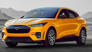 New 2021 Ford Mustang Mach E GT Performance Обзор на канале Авто своими глазами