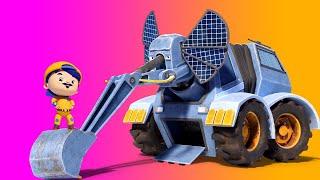 АнимаКары - САМЫЙ БОЛЬШОЙ СЛОН — МУЛЬТФИЛЬМ О ЖИВОТНЫХ - детские мультфильмы с машинами и животными