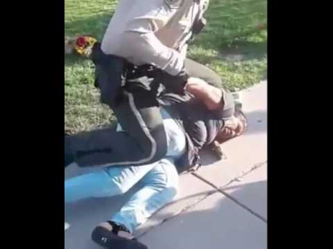 Cop Brutally Arrests Woman For Selling Flowers