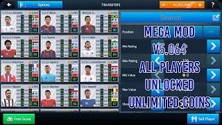 Dream League Soccer 2018 MEGA MOD V5.064 - Unlocked All players & Unlimited Coins