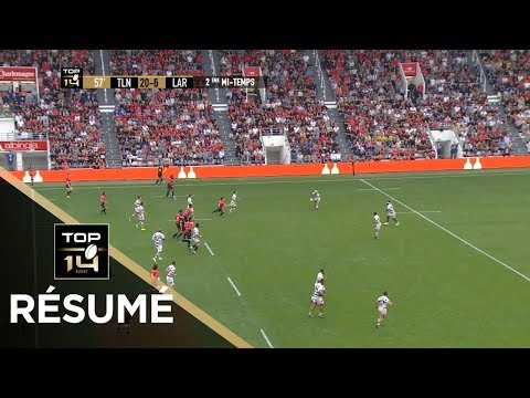TOP 14 - Résumé Toulon-La Rochelle: 26-20 - J6 - Saison 2017/2018