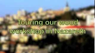 Palestinian Olive Wood Jewellery- Bead Carving. Just Olive Tree.com