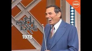 Compilation of the Funniest Match Game Moments