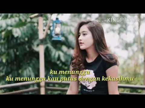 Lyric video SALSHABILLA - Ku Menunggu by Rossa ( COVER )