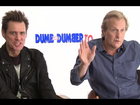 Dumb and Dumber To EXCLUSIVE Scenes | Jim Carrey & Jeff Daniels Interview