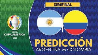 ARGENTINA vs COLOMBIA   Copa América 2021 - Semifinales   Previa, Predicción y Pronóstico