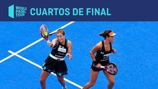 Resumen Cuartos de Final Femeninos (primer turno) Valladolid Master | World Padel Tour