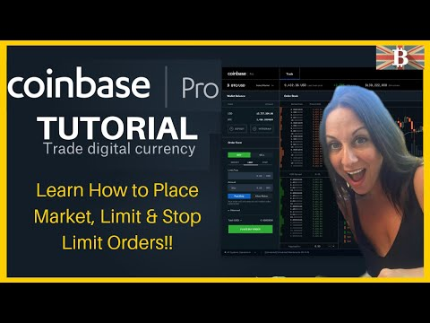 Coinbase Pro Full Tutorial 2019: Cryptocurrency Trading For Beginners