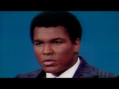 Muhammad Ali talks about being a Muslim in America