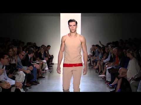 Calvin Klein Collection Men's Spring 2015 Runway Show