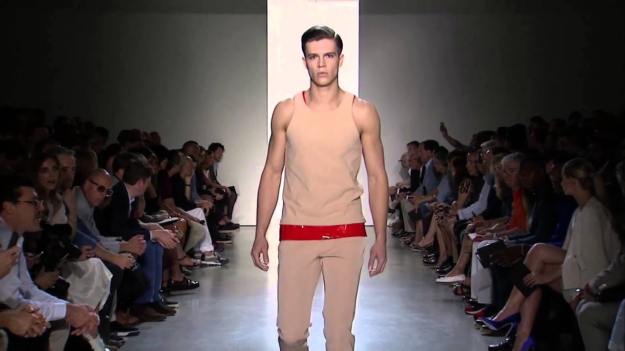 image Naked male fashion show from the