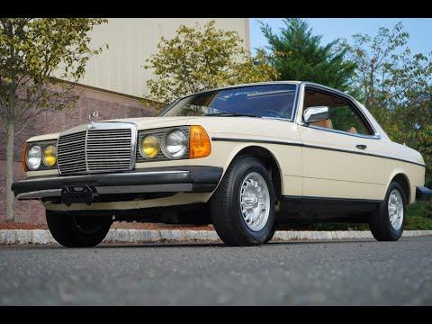 1982 Mercedes Benz 300CD Turbodiesel